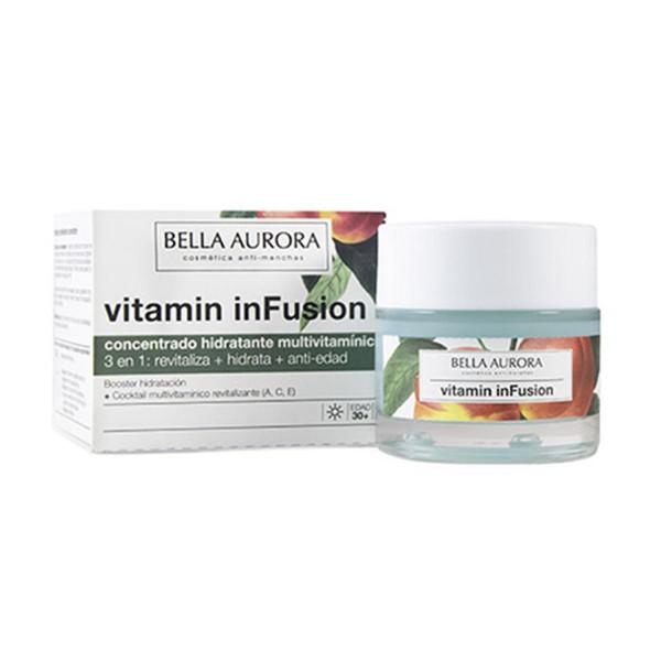 Bella aurora vitamin infusion concentrado hidratante multivitaminico 50ml