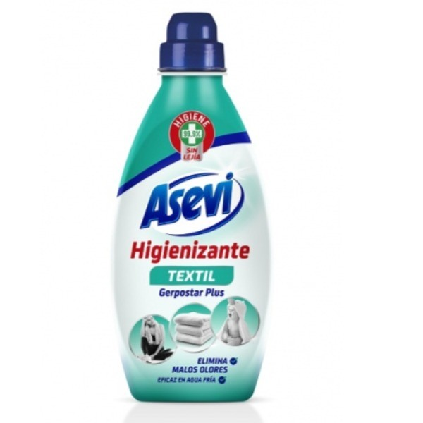 Asevi higienizante textil sin lejía 720ml