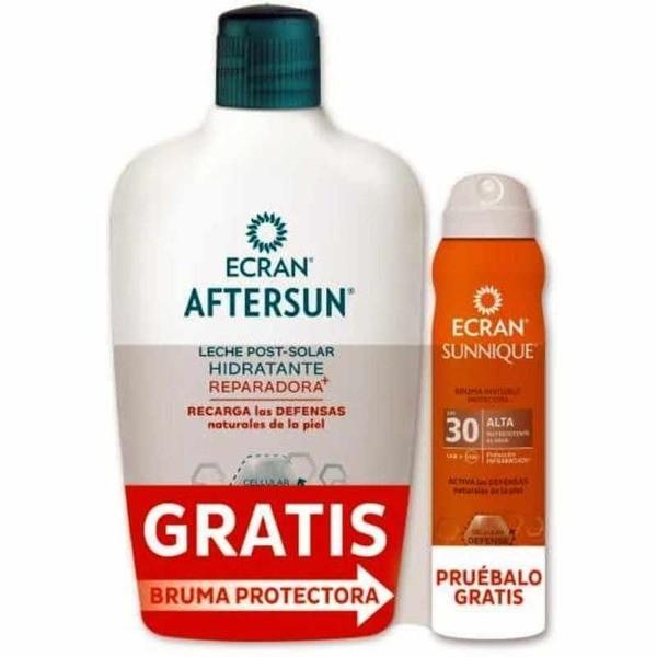 Ecran aftersun hidratante 400 ml + Ecran Sunnique bruma protectora spray SPF30 GRATIS