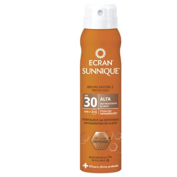 Ecran Sunnique bruma invisible spray SPF30 75 ml