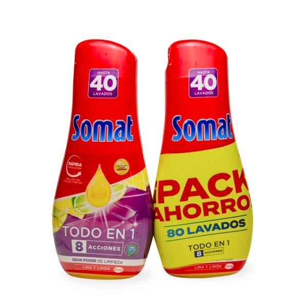 Somat Todo en 1 lavavajillas 80 lavados FORMATO AHORRO