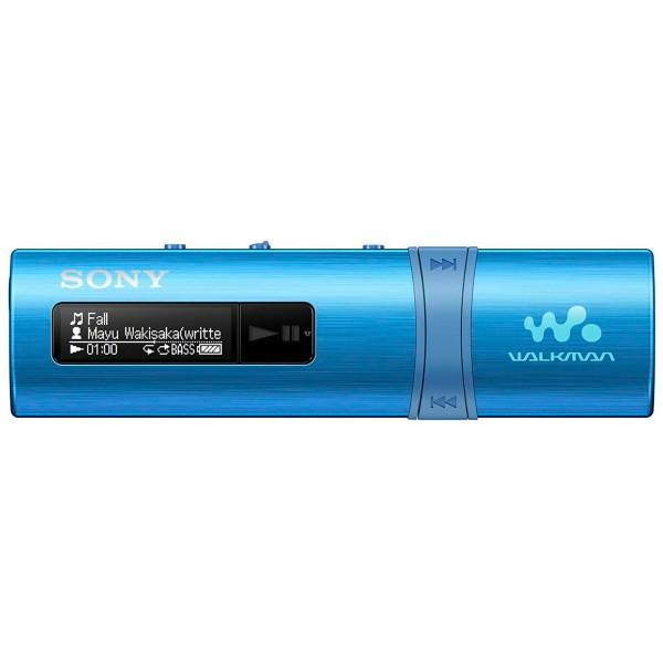 Sony walkman azul reproductor mp3 4gb