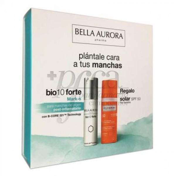 BELLA AURORA BIO10 FORTE MARK-S 30ML + SOLAR 50ML PROMO