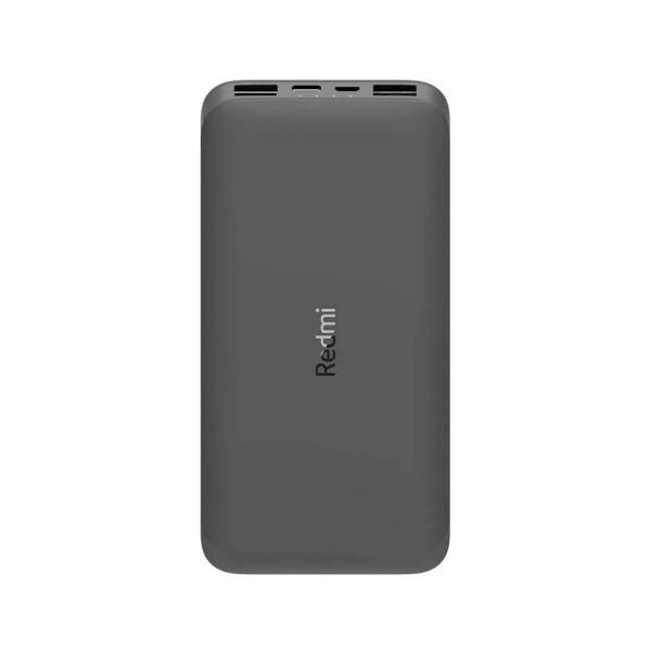 Xiaomi redmi powerbank 10.000mah negra doble salida usb y doble entrada microusb y usb-c